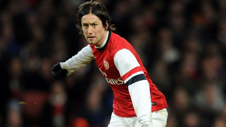 Tomas Rosicky: Proved his worth with a goal against Sunderland