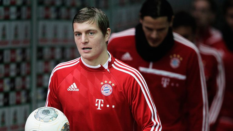 Toni Kroos: Happy at Bayern Munich