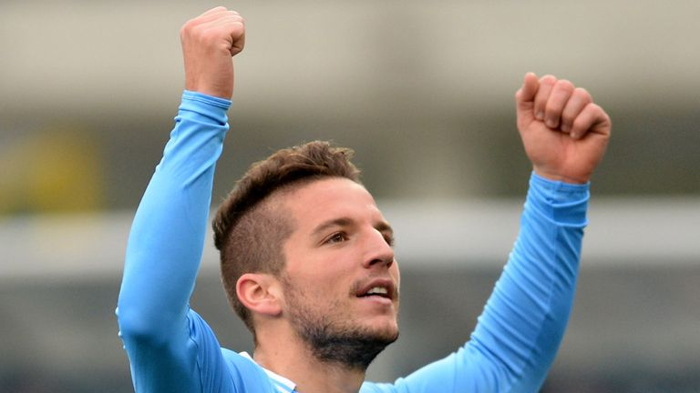 Dries Mertens: Hit Napoli's second against Juventus