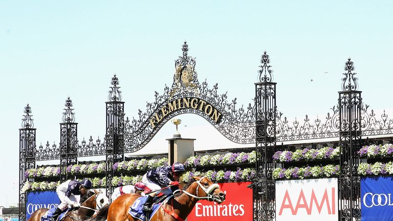 Zoustar winning at Flemington