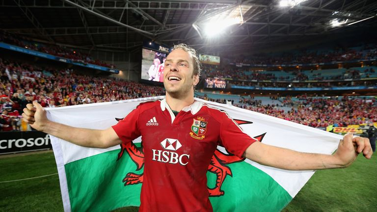 Alun Wyn Jones led the Lions to victory in the third Test of the 2013 series