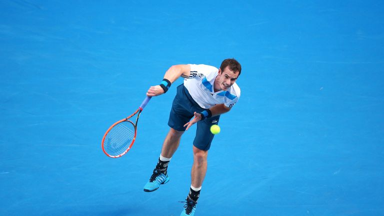 Andy Murray: Opened his Australian Open campaign in style