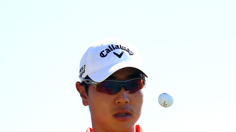 Bae Sang-moon: Has set the early pace at the Sony Open