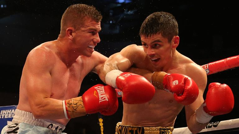 Gary Buckland: Suffered a knockout defeat against Stephen Smith