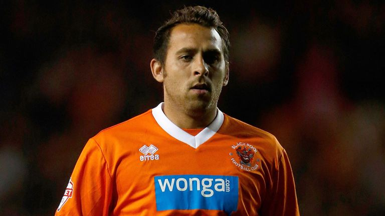 Michael Chopra: Striker might be in trouble with Blackpool again