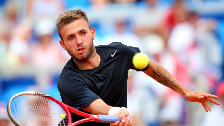 Dan Evans: Making the most of his second chance in Zagreb