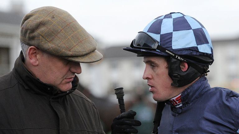 Donald McCain and Jason Maguire had a Catterick treble