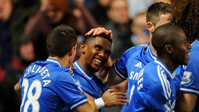 Samuel Eto'o: Striker loving life at Chelsea