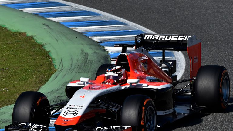 Max Chilton: Gave new Marussia its debut on Thursday