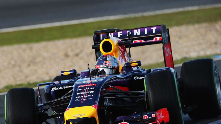 Sebastian Vettel: Managed only eight laps on day two
