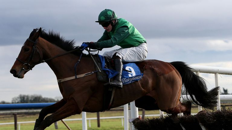 Gitane Du Berlais: Beat stablemate to win the Solerina Hurdle