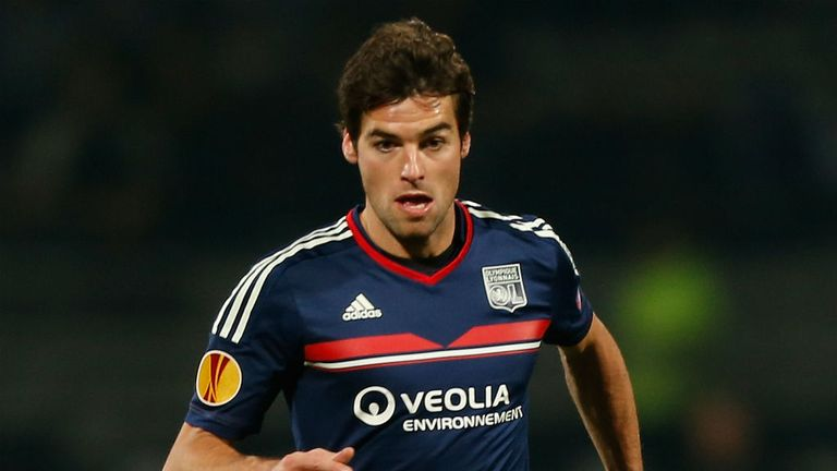 Yoann Gourcuff: Set to stay with Lyon