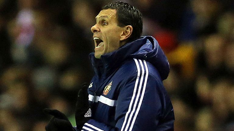 Gus Poyet: Sunderland boss accepts their Premier League form must improve