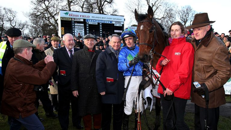 Ruby Walsh poses with Hurricane Fly