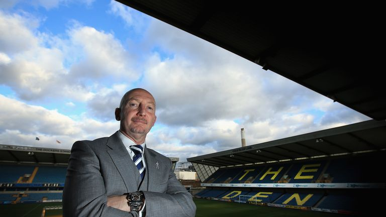 Ian Holloway: Has set his sights on the top flight