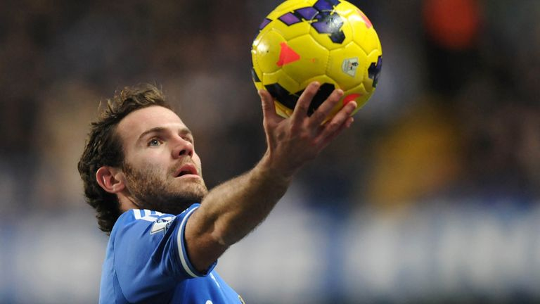 Juan Mata: Could be on his way to United