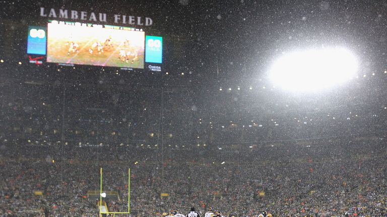 Lambeau Field: Could set a new record for lowest temperature at an NFL game