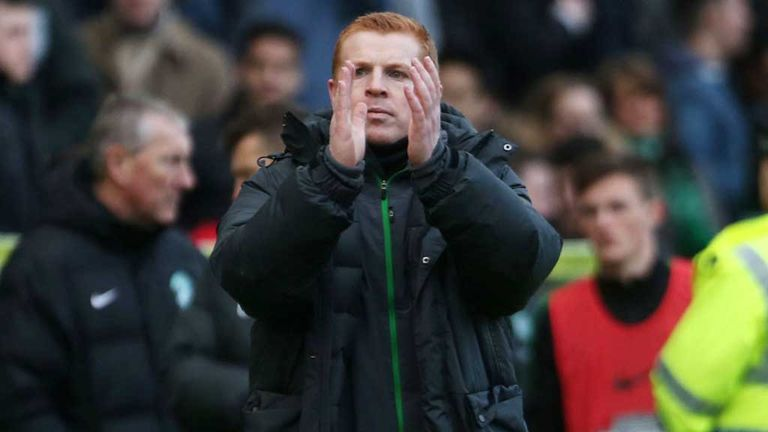Neil Lennon: Subjected to abuse from Aberdeen supporters