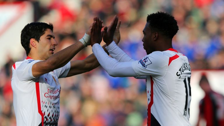 Luis Suarez and Daniel Sturridge: Liverpool's deadly duo