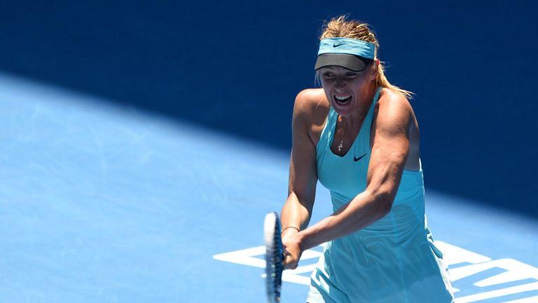 Maria Sharapova: First match since Australian Open exit