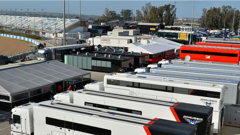 Marussia have already sent staff to Jerez