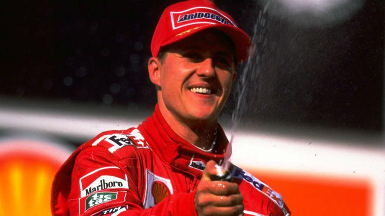 Schumacher took 72 victories for Ferrari