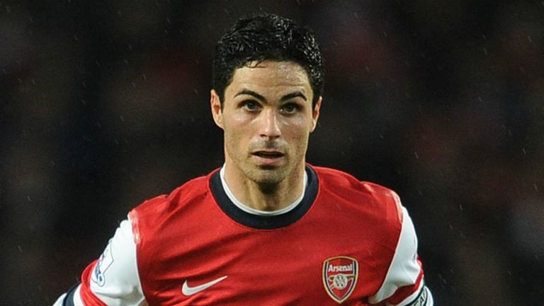 Mikel Arteta: Arsenal midfielder impressed by their midfield options