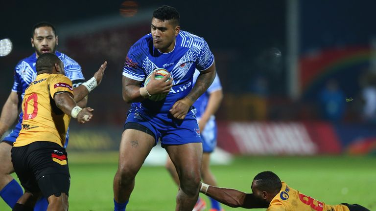 Mose Masoe: Back in training following ankle surgery