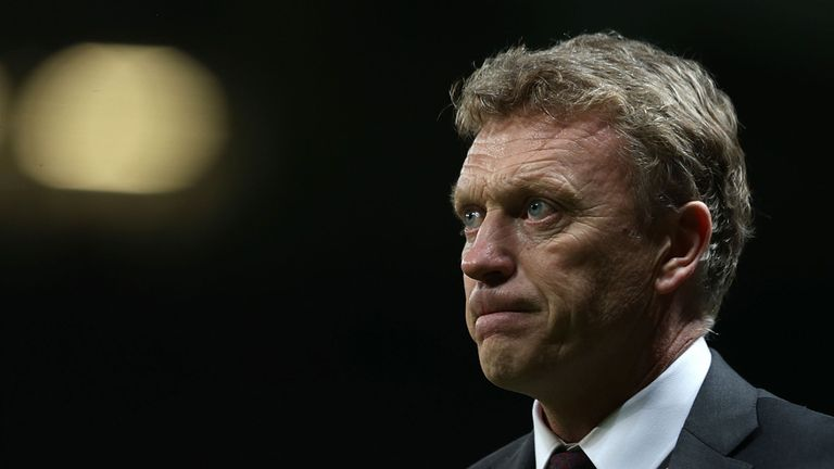 David Moyes: Under pressure on Tuesday night