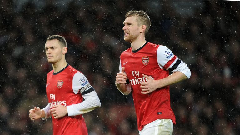 Thomas Vermaelen and Per Mertesacker: Set to sign new deals