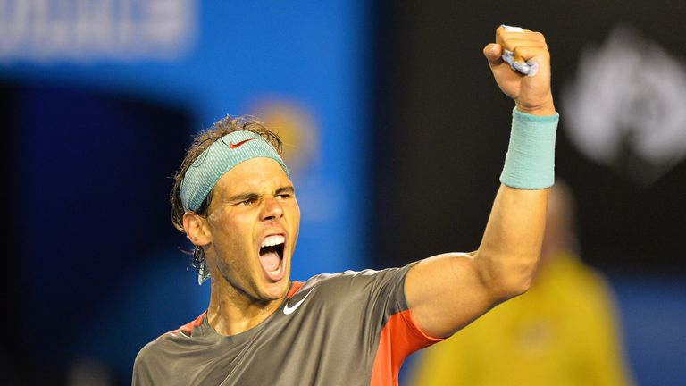 Rafael Nadal: Spaniard has not dropped a set in 12 career meetings with final opponent Stanislas Wawrinka