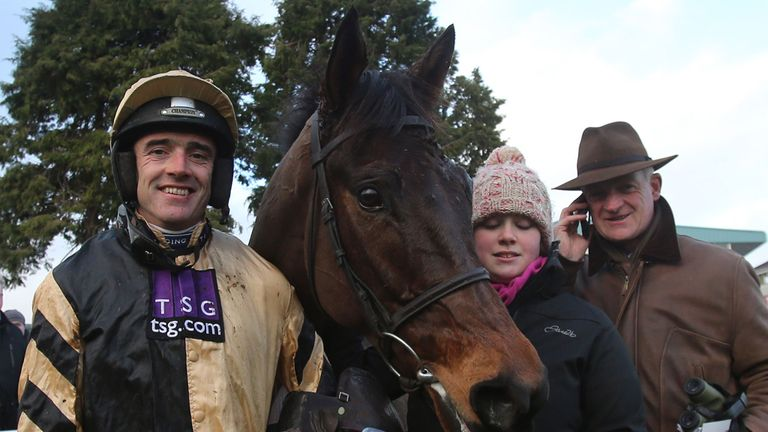 Ruby Walsh and Willie Mullins with Briar Hill