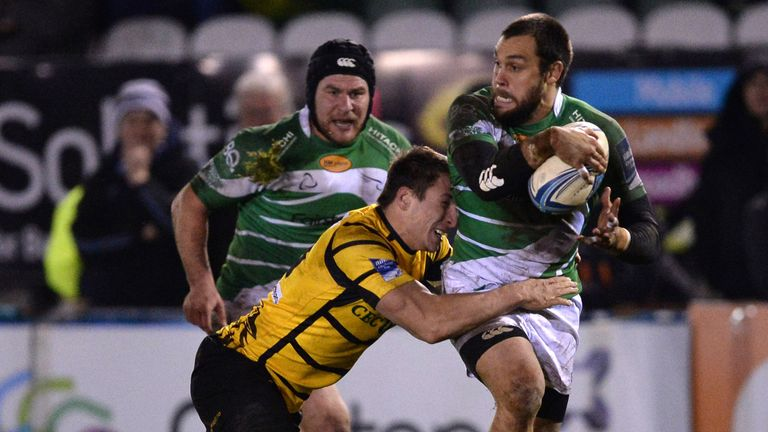 Ryan Shortland (R): Scored the first try of the contest in the opening minutes