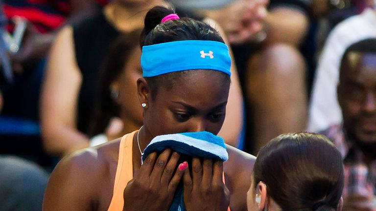 Stephens reached the semi-finals last year in Melbourne
