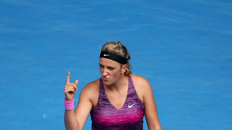 Victoria Azarenka: Beat Sloane Stephens in straight sets