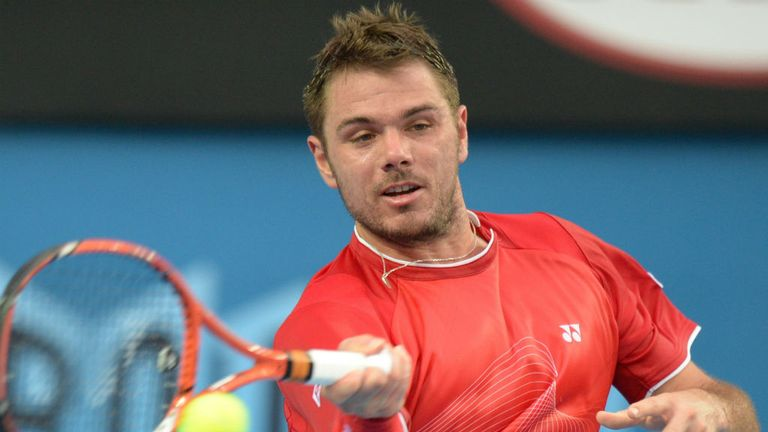 Stanislas Wawrinka: Beat Alejandro Falla in four sets to reach round three
