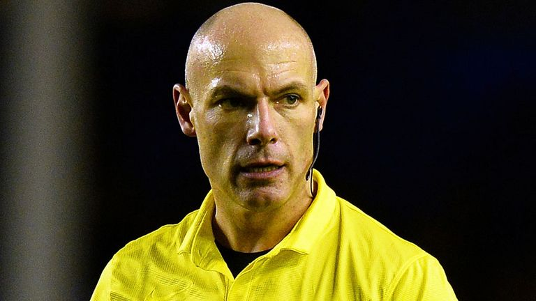 Howard Webb: Returns after refereeing the 2010 World Cup final