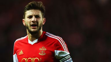 Adam Lallana: Nominated for the PFA Player of the Year award