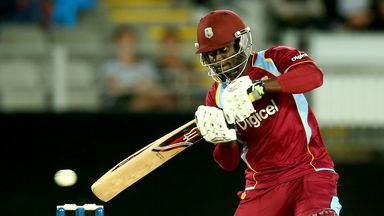 Andre Fletcher: Smashed his second 50 in as many day as the West Indies levelled the series