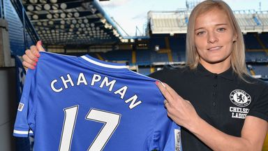 Katie Chapman will lead Chelsea out at Wembley