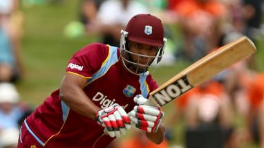 Kieran Powell: West Indies opener put on century stand with Dwayne Smith