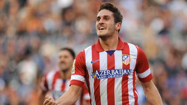 Koke: Signs new deal at Atletico until 2019