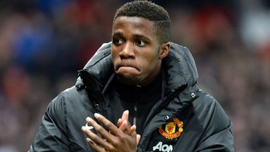 Wilfried Zaha: The former Crystal Palace player found his opportunities at Manchester United limited under David Moyes.