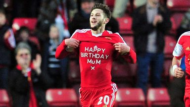 Adam Lallana: Birthday wishes from goalscorer