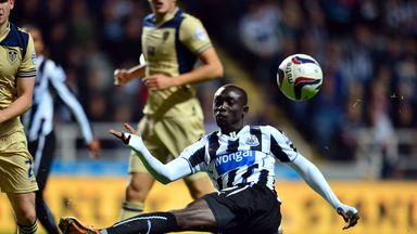 Papiss Cisse: Has struggled for goals this season