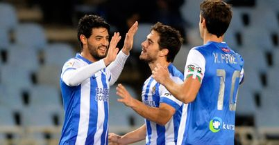 Sociedad win, Valencia held