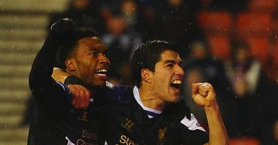 Daniel Sturridge and Luis Suarez: Reunited again to great effect