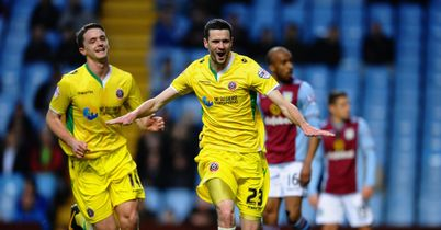 Jamie Murphy: Opened the scoring at Villa Park