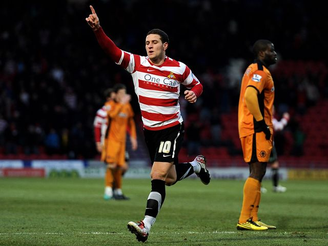 Billy Sharp: Grabbed another goal for Doncaster