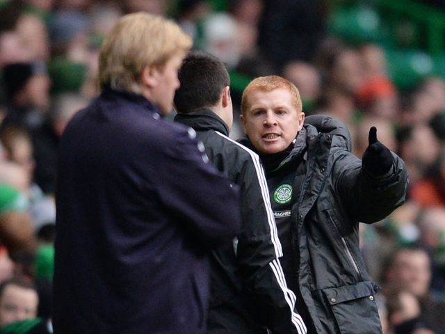 Neil Lennon has something to say